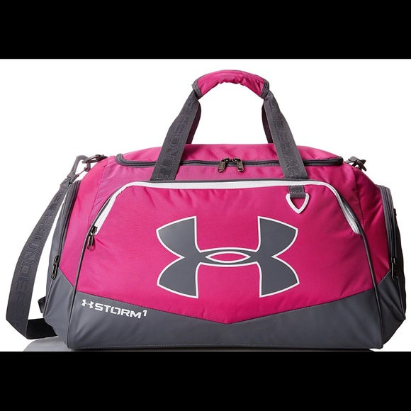 d6d595860f Under Armour Storm 1 Medium Pink Gym Duffle bag
